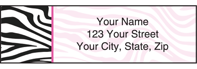 Neon Safari Address Labels
