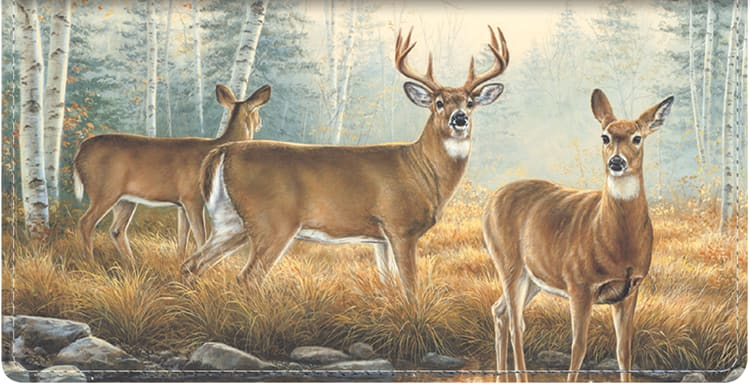 Enlarged view of national wildlife federation checkbook cover