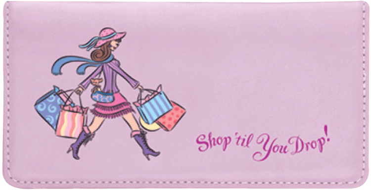 Pampered Girls¿ Checkbook Cover - click to view larger image