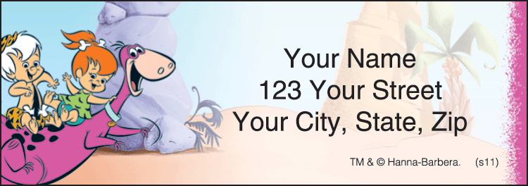 Pebbles Address Labels - click to preview
