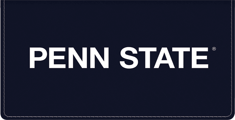 Penn State Logo Checkbook Covers - click to view larger image