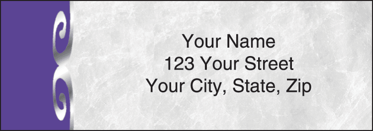 Platinum Address Labels