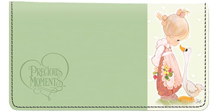Enlarged view of Precious Moments Checkbook Cover
