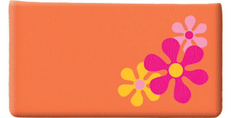 Retro Graphics Side Tear Checkbook Cover - click to view larger image