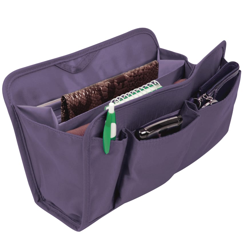 Purse Organizer - Purple - click to view larger image