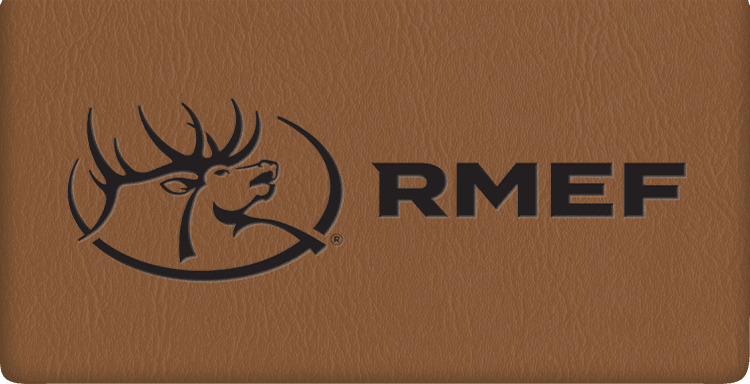 Enlarged view of Rocky Mountain Elk Foundation Checkbook Cover