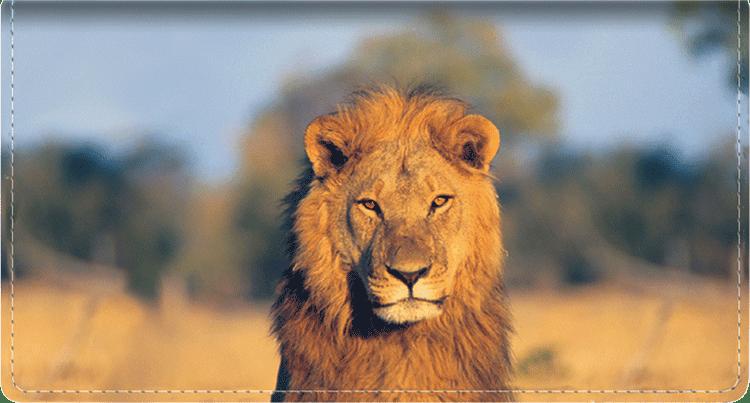 Safari Checkbook Cover - click to view larger image