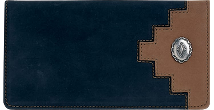 Santa Fe Checkbook Cover - click to view larger image