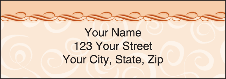 Enlarged view of Savvy Address Labels