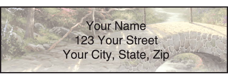 Serenity by Thomas Kinkade Address Labels