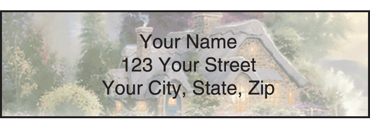 Serenity by Thomas Kinkade Address Labels - click to preview