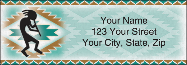 Shades of the Southwest Address Labels - click to preview