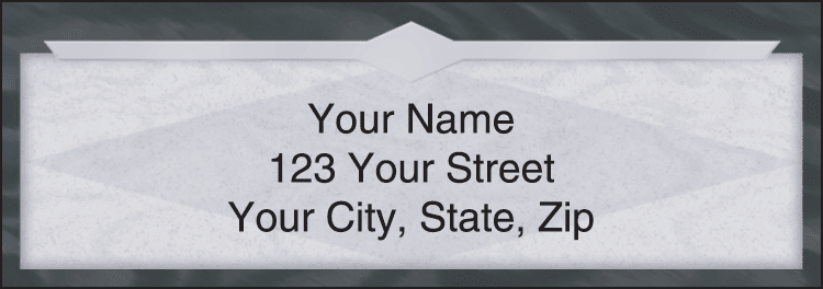 Slate Address Labels