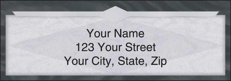 Slate Address Labels