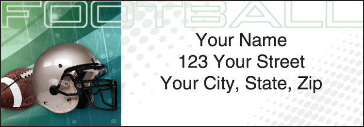 Sports Fanatic Address Labels - click to view larger image