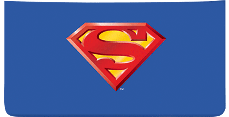 Superman Checkbook Cover - click to view larger image