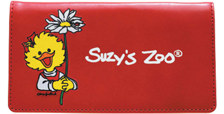 Suzy 's Zoo® Checkbook Cover - click to view larger image