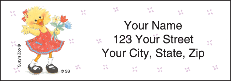 Suzy 's Zoo® Address Labels - click to view larger image