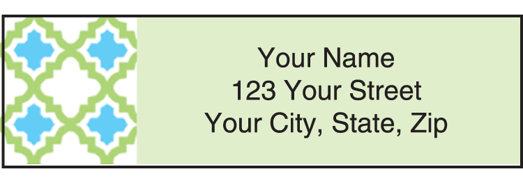 Twisted Address Labels - click to view larger image