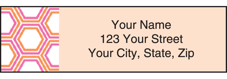 Enlarged view of Twisted Address Labels
