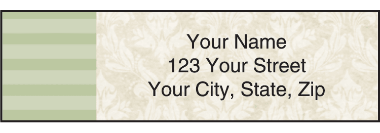 vintage address labels - click to preview
