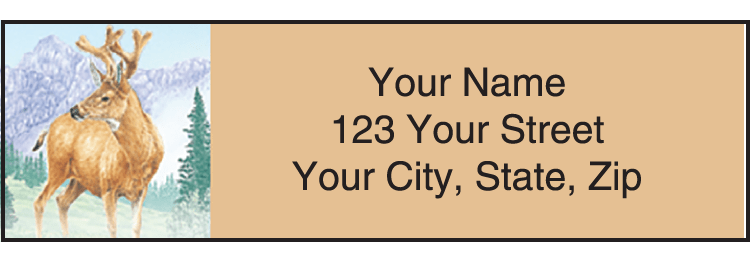 Wildlife Adventure Address Labels - click to view larger image