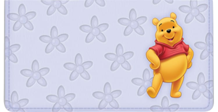 Disney Winnie the Pooh Checkbook Cover - click to view larger image