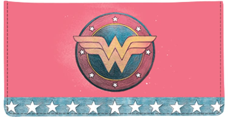 Wonder Woman Comics Checkbook Cover