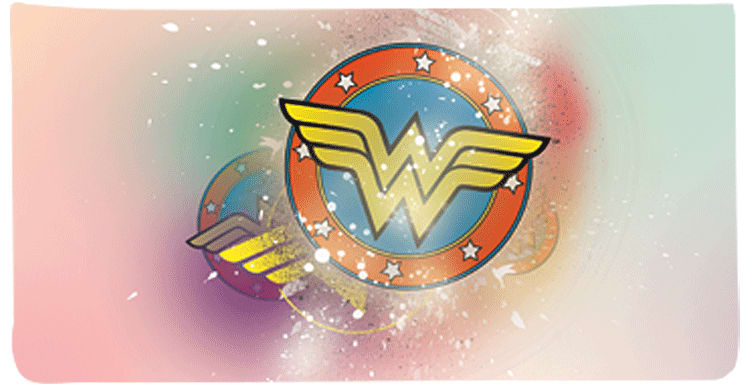 Wonder Woman Checkbook Cover