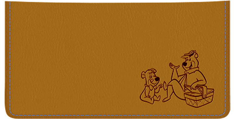 Yogi Bear Checkbook Cover - click to view larger image
