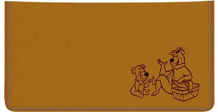 Yogi Bear Checkbook Cover