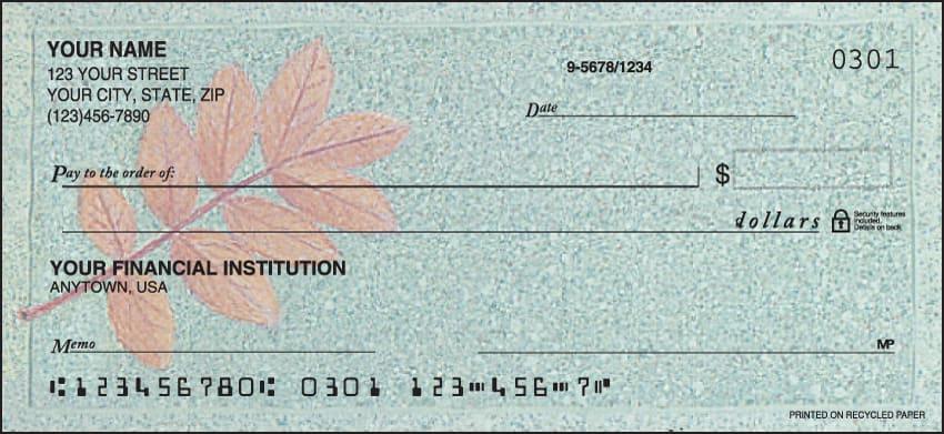 Autumn Leaf Checks - click to preview
