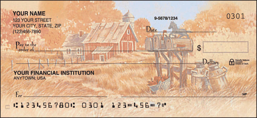 Enlarged view of Country 'Scapes Checks