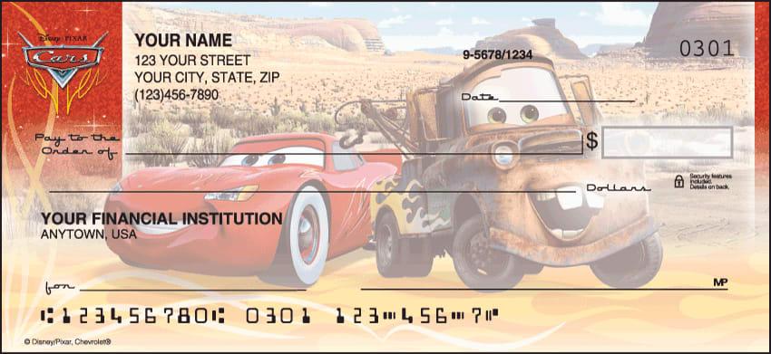 Disney Pixar Cars Checks - click to view larger image