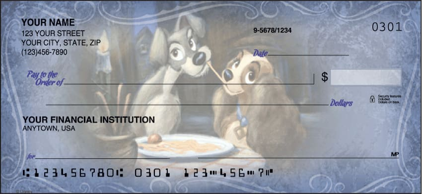 Disney Classics Checks - click to preview