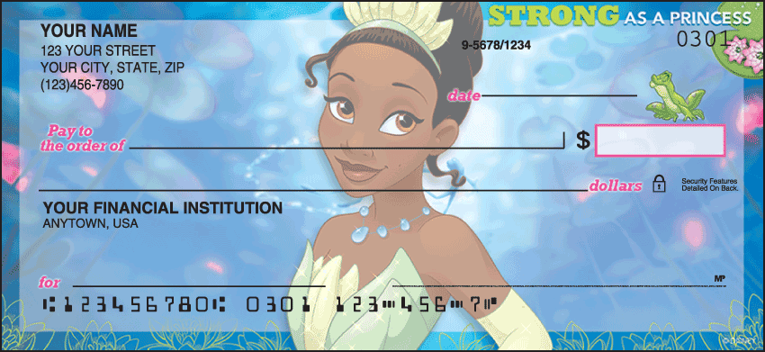 Disney Princess Checks - click to preview