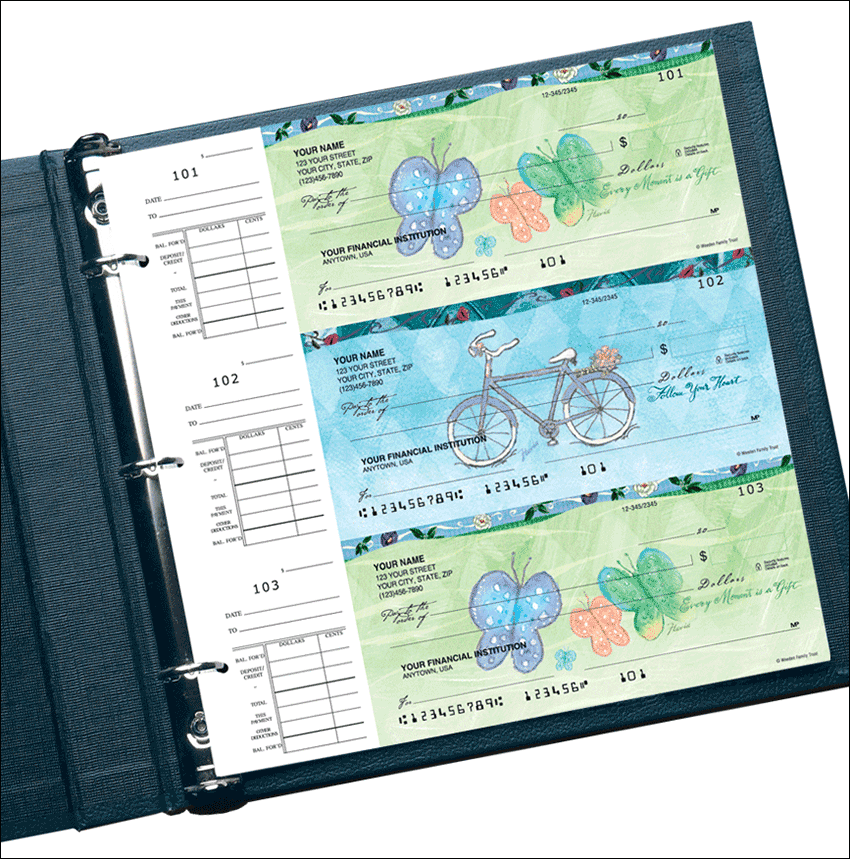 Flavia® Celebrations Desk Set Checks - click to preview