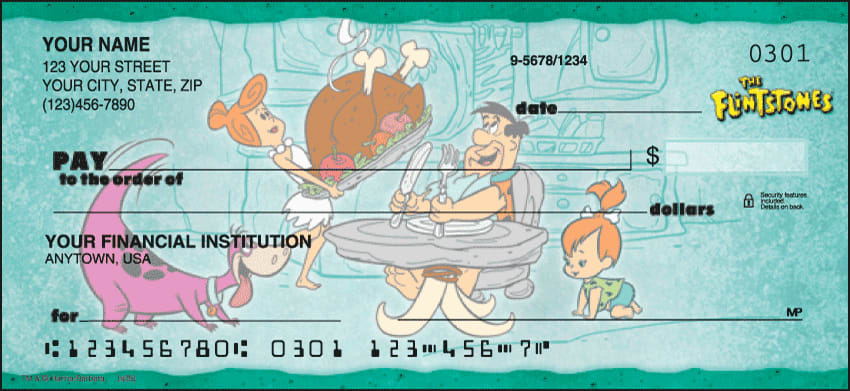 The Flintstones Checks - click to preview