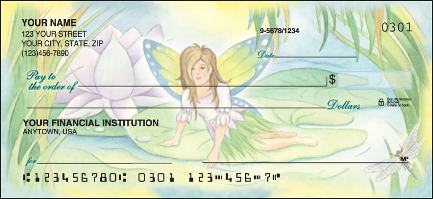 Garden Fairies Checks - click to preview