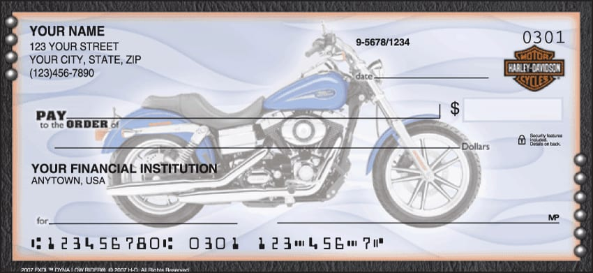 Enlarged view of Harley-Davidson Checks