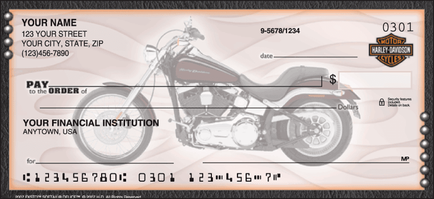 Harley-Davidson Checks - click to preview