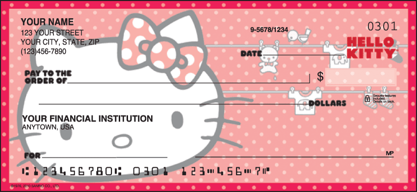 Hello Kitty® Classic Checks - click to preview