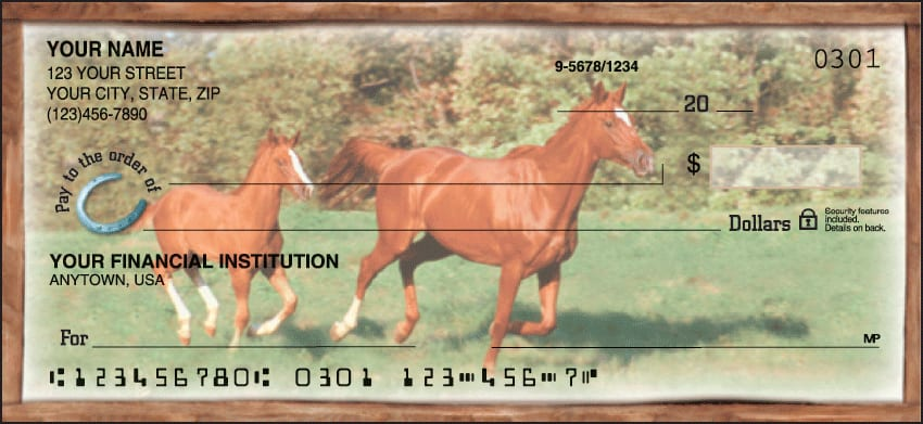 Enlarged view of Horse Play Checks