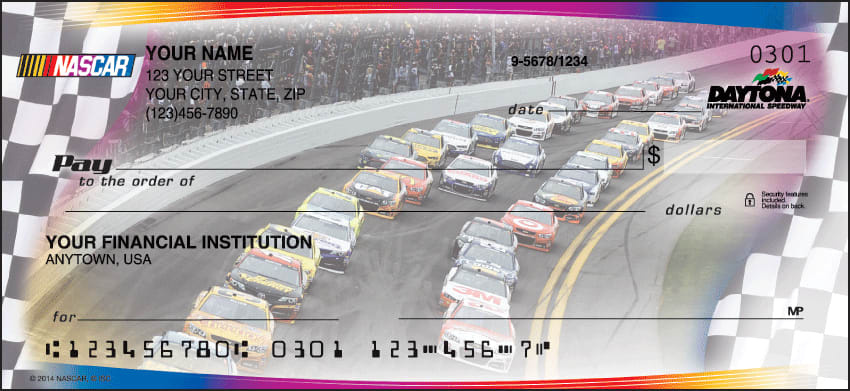 NASCAR Collections Checks - click to preview