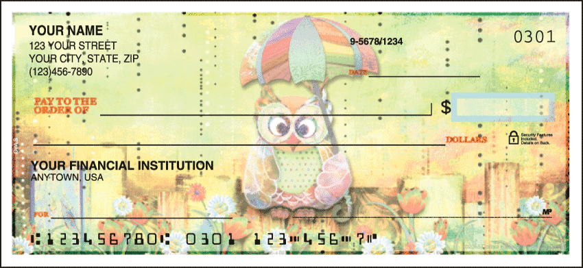 Owls Checks - click to view larger image
