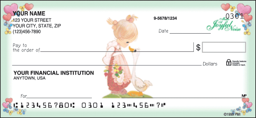 Enlarged view of Precious Moments® Checks