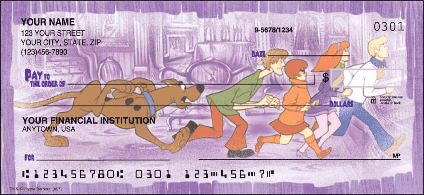 Scooby-Doo Mystery, Inc. Checks - click to preview