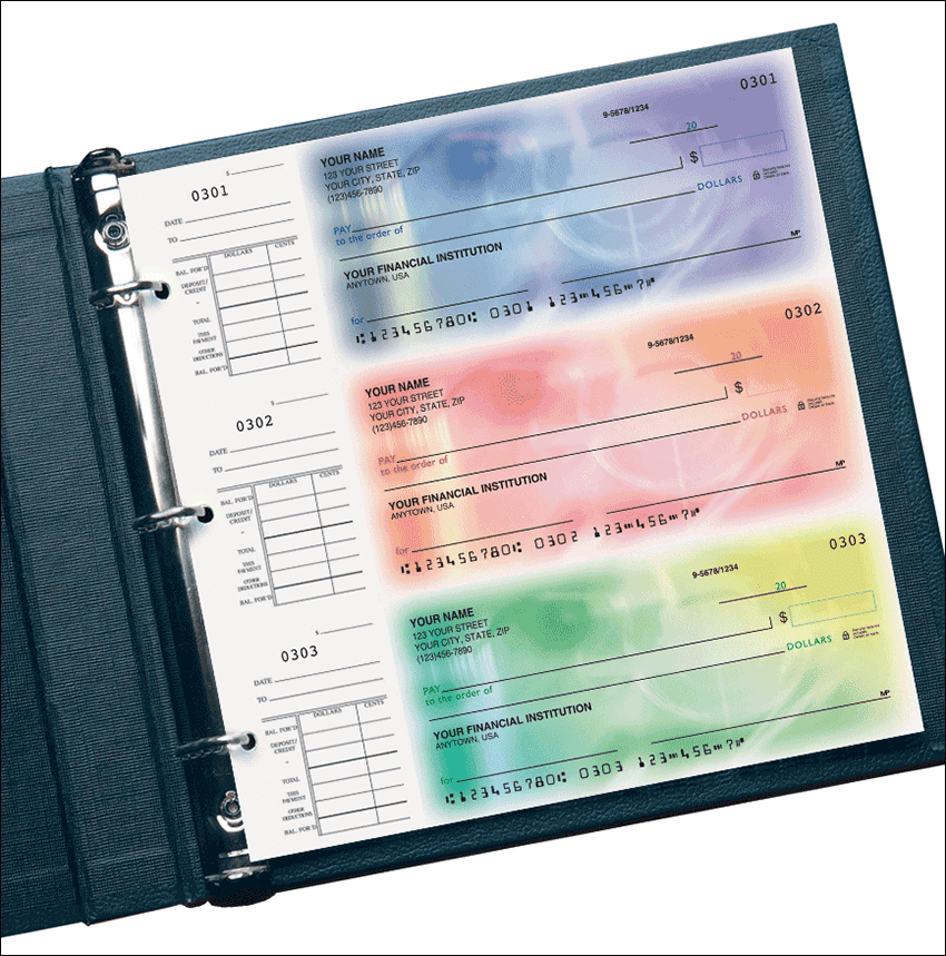 Spectrum Desk Set Checks - click to preview