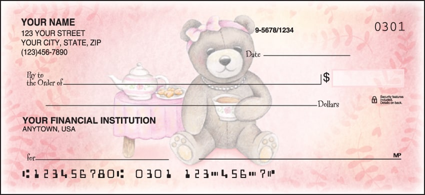 Teddy Bears Checks - click to view larger image