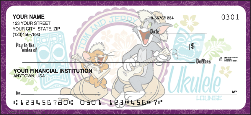 Enlarged view of Tom and Jerry Checks